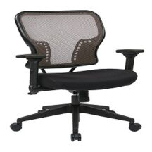 Office Star 213-38N1F3 Latte AirGrid Back Chair