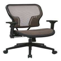 Office Star 213-88N1F3 Latte AirGrid Seat and Back Chair