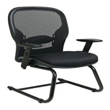 Office Star 2305 Breathable Mesh Back and Seat Visitors Chair