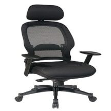 Office Star 25004 Breathable Mesh Back Managers Chair