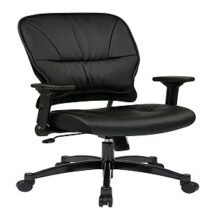 Office Star 32-E3371F3 Eco Leather Seat and Back Managers Chair