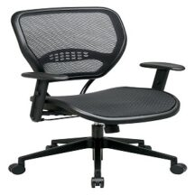 Office Star 5560 Professional Dark Air Grid Seat and Back Chair