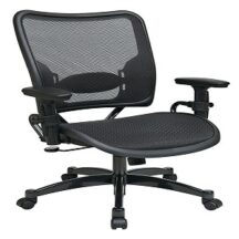 Office Star 6216 Deluxe Dark Air Grid Seat and Back Managers Chair