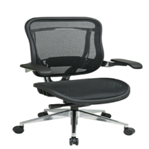 Office Star 818A-11P9C1C3 Executive High Back Chair