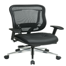 Office Star 818A-41P9C1A8 Executive High Back Chair