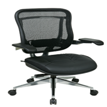 Office Star 818A-41P9C1C3 Executive High Back Chair