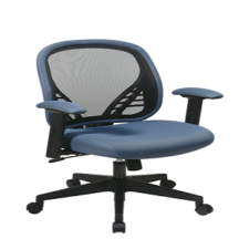 Office Star 819-73N8WF DuraGrid Back Chair