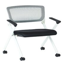 Office Star 848W Folding Chair with Flex Back