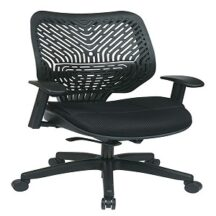 Office Star 86-M33BN2W REVV Series - Self Adjusting SpaceFlex Back Chair