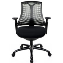 @theOffice 10 Series Mid Back Office Chair - Black