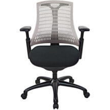 @theOffice 10 Series Mid Back Office Chair - Grey