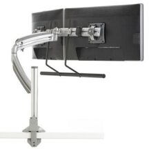 Symmetry Sit to Stand Dual Array Monitor Arm