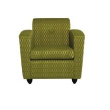 Dauphin Indigo lounge Chair