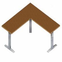 Symmetry Clarity 90 Degree (3 Leg) Crank Base Sit to Stand