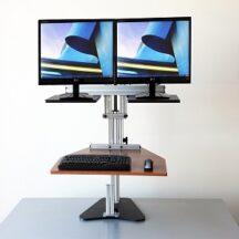 Ergo Desktop Dual Kangaroo Dual Monitors