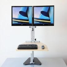 Ergo Desktop Kangaroo Elite Dual Monitors