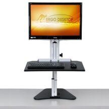 Ergo Desktop Wallaroo Junior Single Monitor