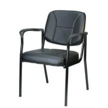 Eurotech Dakota Black Vinyl Chair