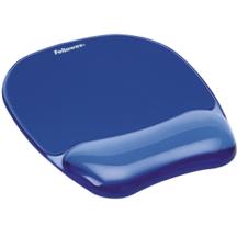 Fellowes Gel Mousepad Wrist Rest - Crystals Blue