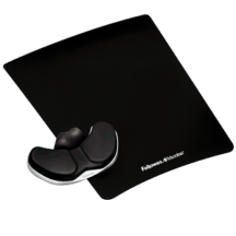Fellowes Gliding Palm Support with Microban Protection