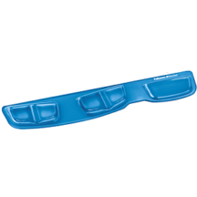 Fellowes Keyboard Palm Support with Microban Protection - Blue
