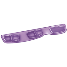 Fellowes Keyboard Palm Support with Microban Protection - Purple