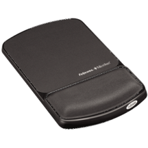 Fellowes Mouse Pad Wrist Support with Microban Protection