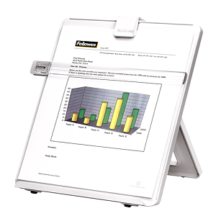 Fellowes Non-Magnetic Copyholder - Letter Platinum