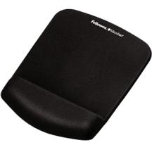 Fellowes PlushTouch Mouse Pad Wrist Rest - Black