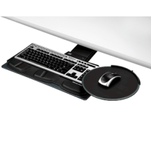 Fellowes Professional Series Sit  Stand Keyboard Tray