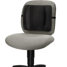 Fellowes Standard Backrest - Black