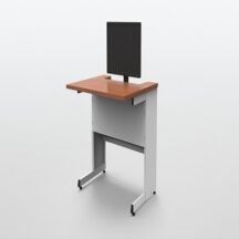 ISE Single User Recessed Desk