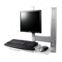 Richelieu Ergonomics Sit Stand Combo Wall Center with Rotation FX Fluid Series