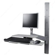 Richelieu Ergonomics Sit Stand LCD and Desktop FX Fluid Series