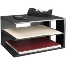 Victor Tech 11205 Midnight Black Corner Shelf
