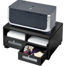 Victor Tech 11305 Midnight Black Printer Stand