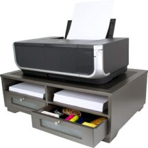 Victor Tech S1130 Classic Silver Printer Stand