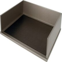 Victor Tech S1154 Classic Silver Stacking Letter Tray