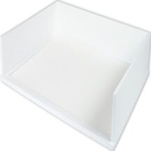 Victor Tech W1154 Pure White Stacking Letter Tray