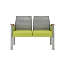 Allseating Foster Mesh Multiple Double Chair