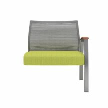 Allseating Foster Mesh Tandem Bariatric Add-On Unit