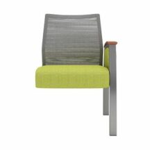 Allseating Foster Mesh Tandem Guest Add-On Unit