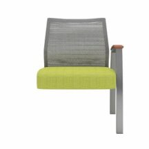 Allseating Foster Mesh Tandem Wide Add-On Unit
