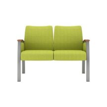 Allseating Foster Upholstered Multiple Double Chair
