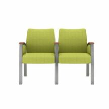 Allseating Foster Upholstered Multiple Double with Full Arm Chair