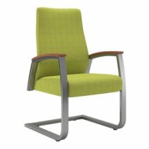 Allseating Foster Upholstered Patient Sled