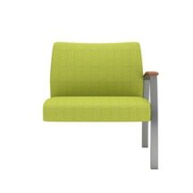 Allseating Foster Upholstered Tandem Bariatric Add-On Unit