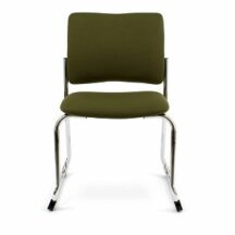 Allseating Rainbow Square Back Stackable Sled Chair