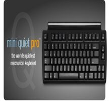 Matias Ergonomics Mini Quiet Pro keyboard