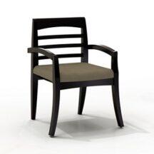 Mayline VSC10AF Mercado Wood Upholstered